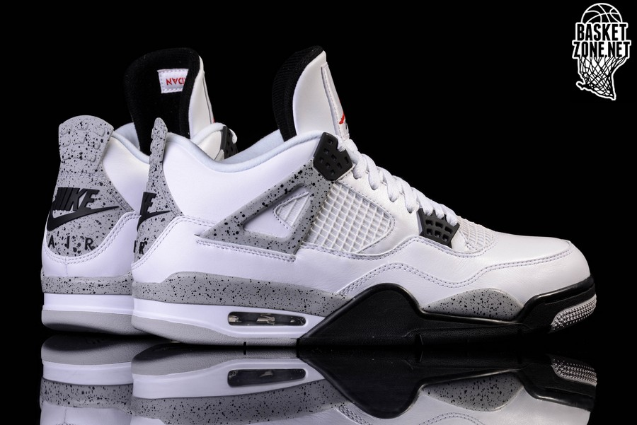 buy popular d3c87 b04f4 NIKE AIR JORDAN 4 RETRO OG  WHITE CEMENT