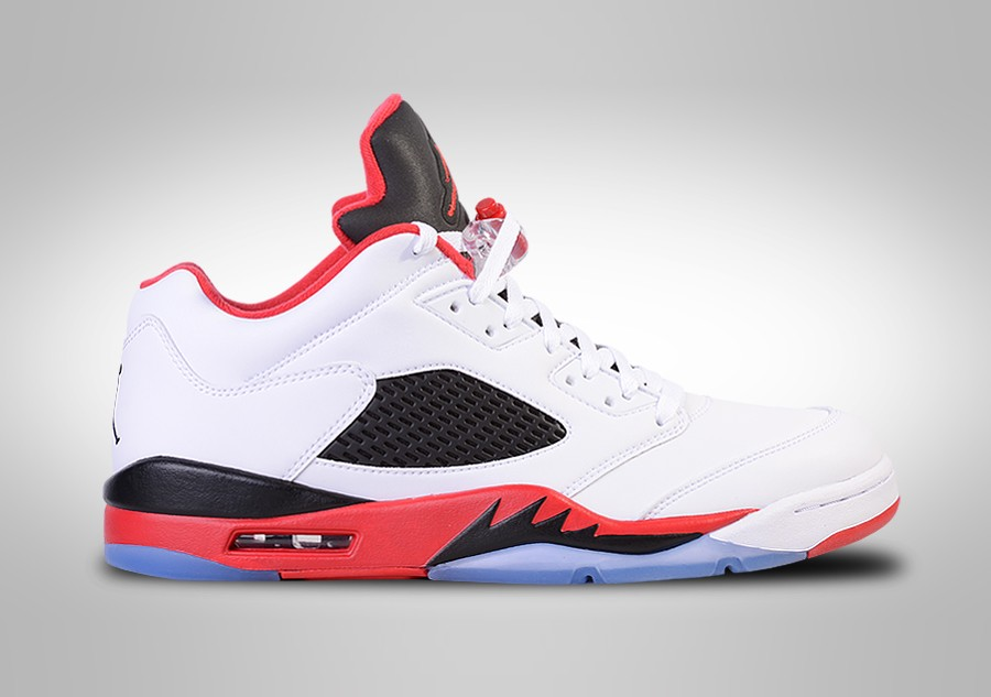lowest price 45c4f 72a8a NIKE AIR JORDAN 5 RETRO LOW FIRE RED