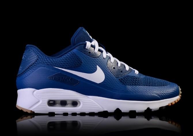 Nike Air Max 90 Ultra Essential Coastal Blue Trainers Discount