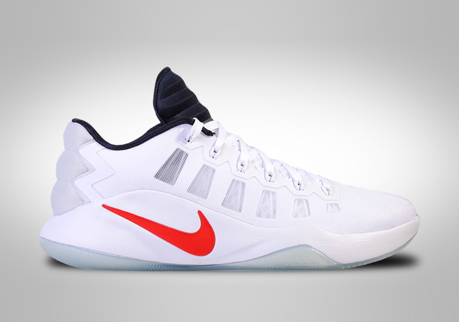 classic fit 0e36c f7452 NIKE HYPERDUNK 2016 LOW USA BASKETBALL TEAM HOME