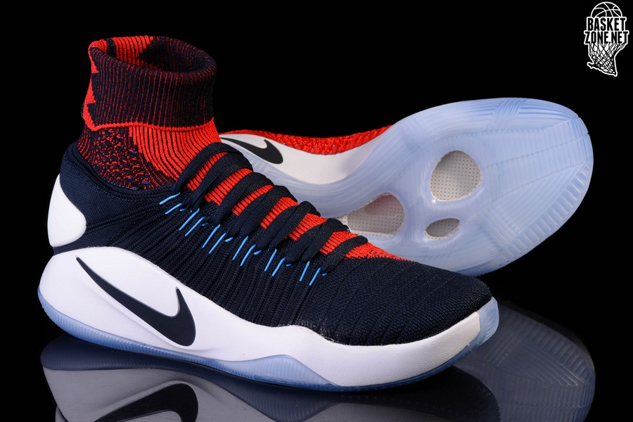 online store 05000 53624 ... cheapest nike hyperdunk 2018 flyknit usa usa usa olympic pour 13500  basketzone 57b6a6 20258 4d147