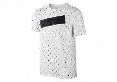 NIKE AIR JORDAN 1 BANNED TEE WHITE BLACK