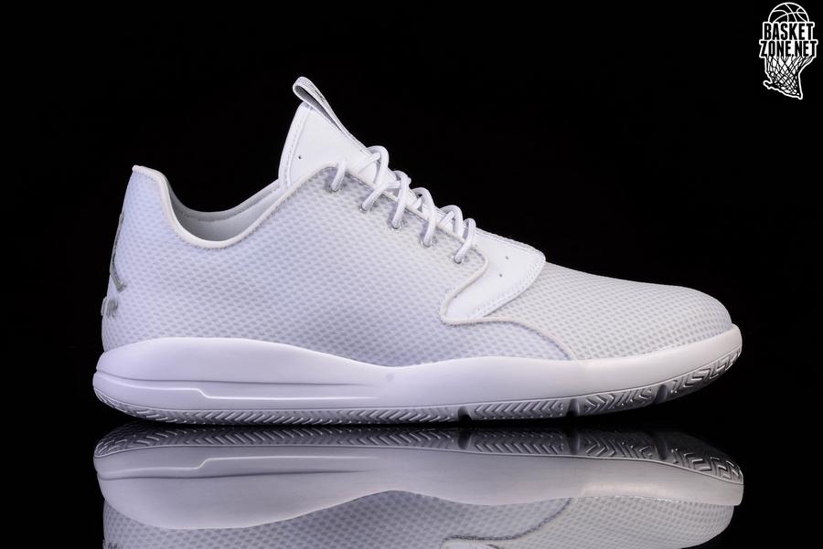 sports shoes 0219f 699a6 NIKE AIR JORDAN ECLIPSE WHITE METALLIC SILVER