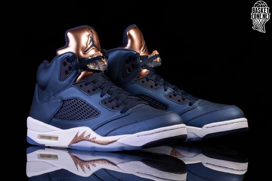 best sneakers 24e81 f74c7 NIKE AIR JORDAN 5 RETRO BRONZE