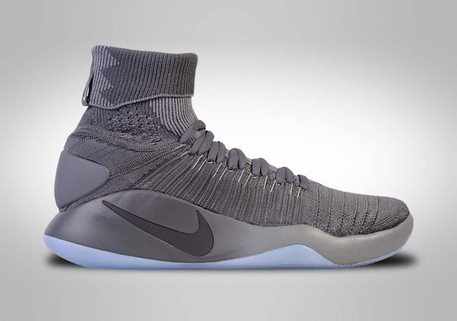 save off 03dc1 ccdca NIKE HYPERDUNK 2016 FLYKNIT COOL GREY