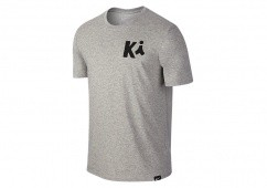 NIKE KYRIE ART 1 TEE DARK GREY HEATHER