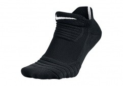 NIKE ELITE VERSATILITY LOW BASKETBALL SOCKS BLACK