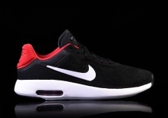 NIKE AIR MAX MODERN ESSENTIAL BLACK GYM RED