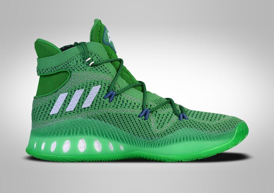 Adidas Crazy explosivo primeknit Andrew Wiggins PE Verde Precio