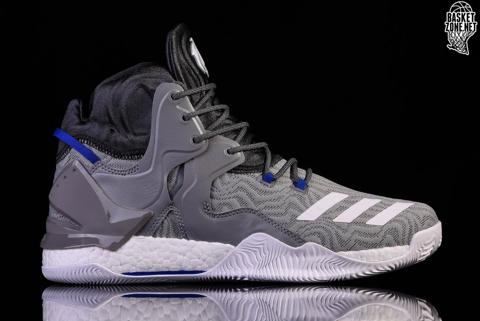 ADIDAS D ROSE 7 PRIMEKNIT SOLID GREY. BB8212. PRICE  a4bc765a0