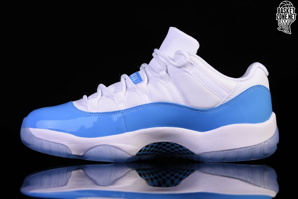 41236c6e33f ... 50% off nike air jordan 11 retro low unc north carolina blue e8961 579a2