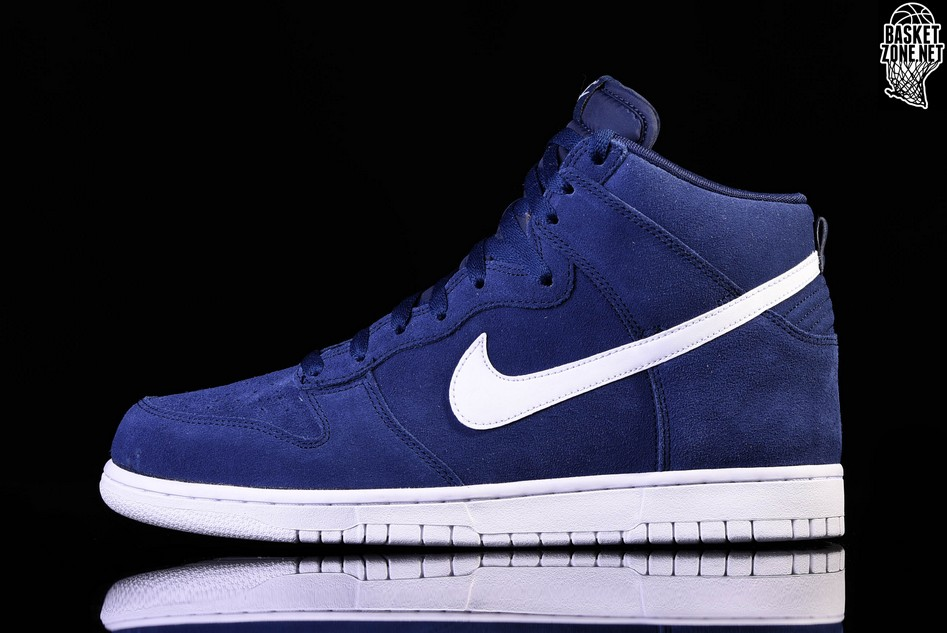 low priced e38e1 b0ce2 NIKE DUNK HI BINARY BLUE