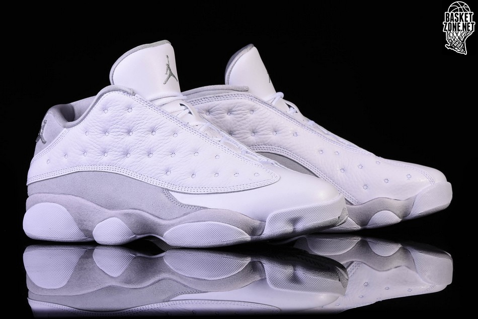 online store 8cab4 a6237 NIKE AIR JORDAN 13 RETRO LOW PURE MONEY