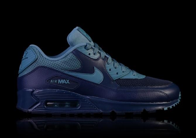 NIKE AIR MAX 90 ESSENTIAL NAVY SMOKEY BLUE