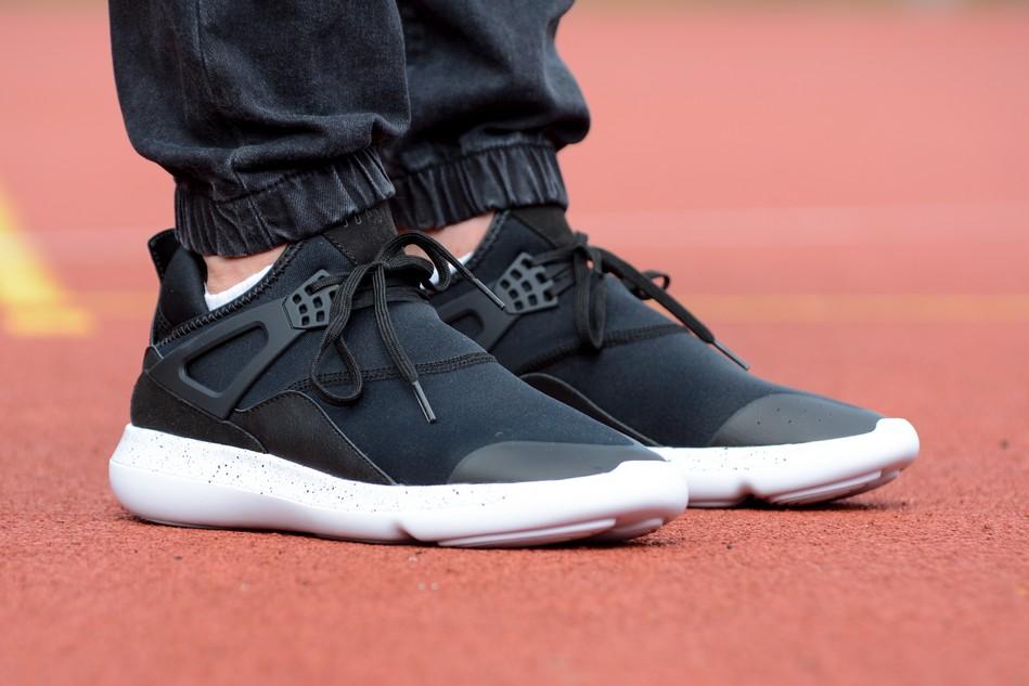 AJ8u Nike Flyknit Lunar 1 Mens Running Shoes Dark BlueRed Free Shipping