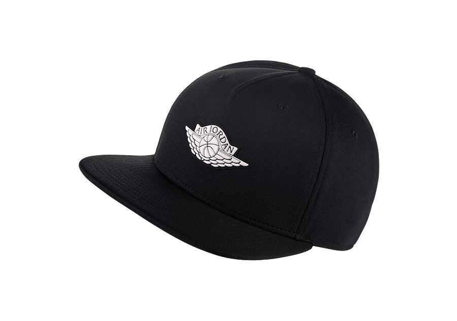 906c914ad656a4 NIKE AIR JORDAN WINGS STRAPBACK HAT BLACK price €32.50