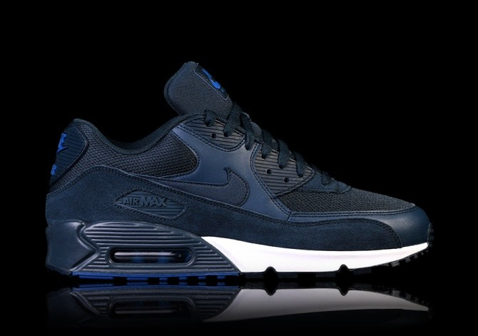 hot sale online 95953 1a182 NIKE AIR MAX 90 ESSENTIAL NAVY BLUE price €115.00 ...