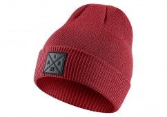 NIKE AIR JORDAN P51 KNIT BEANIE WITH EMBROIDERY GYM RED