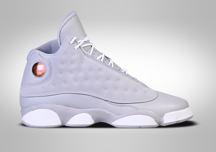 new concept af5ed f963d ... discount code for nike air jordan 13 retro wolf grey gg c3731 7cea2