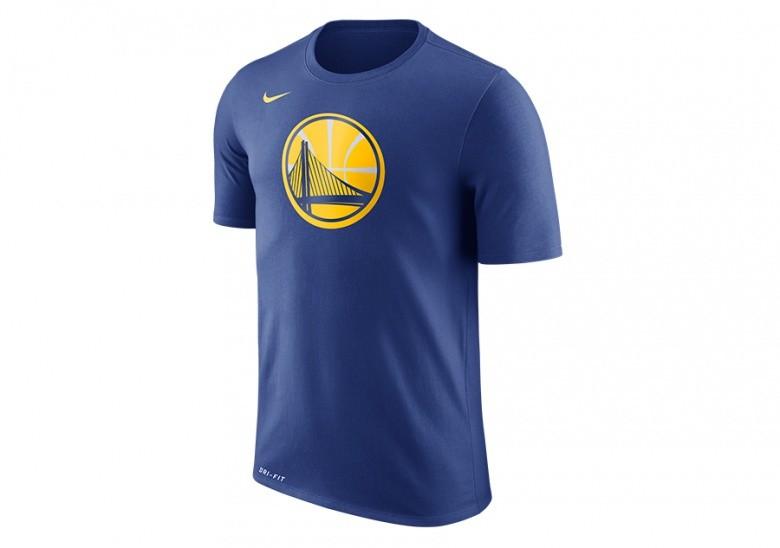 2313dd870ed4 NIKE NBA GOLDEN STATE WARRIORS DRY TEE LOGO BLUE für 170