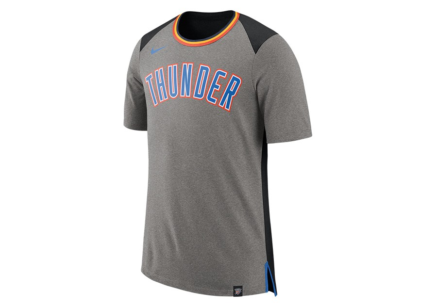 the latest c2739 d8989 NIKE NBA OKLAHOMA CITY THUNDER TOP FAN DK GREY HEATHER price €29.00    Basketzone.net
