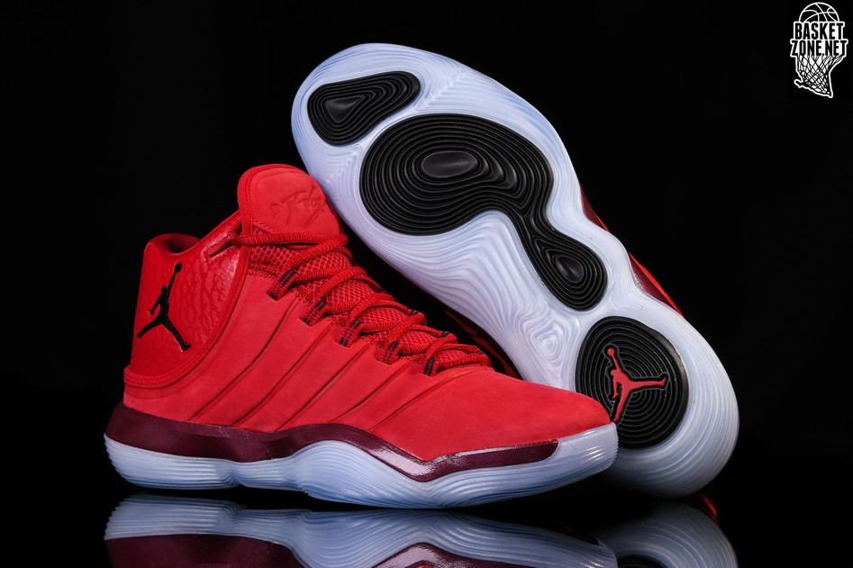 finest selection e11f6 5e9a7 NIKE AIR JORDAN SUPER.FLY 2017 GYM RED