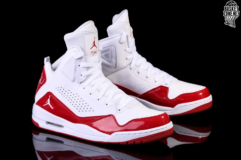 the latest 9b483 b476a NIKE AIR JORDAN SC-3 WHITE FIRE RED