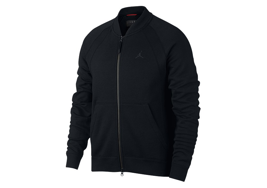 d572321e0ebcfb NIKE AIR JORDAN SPORTSWEAR WINGS FLEECE BOMBER JACKET BLACK price €85.00