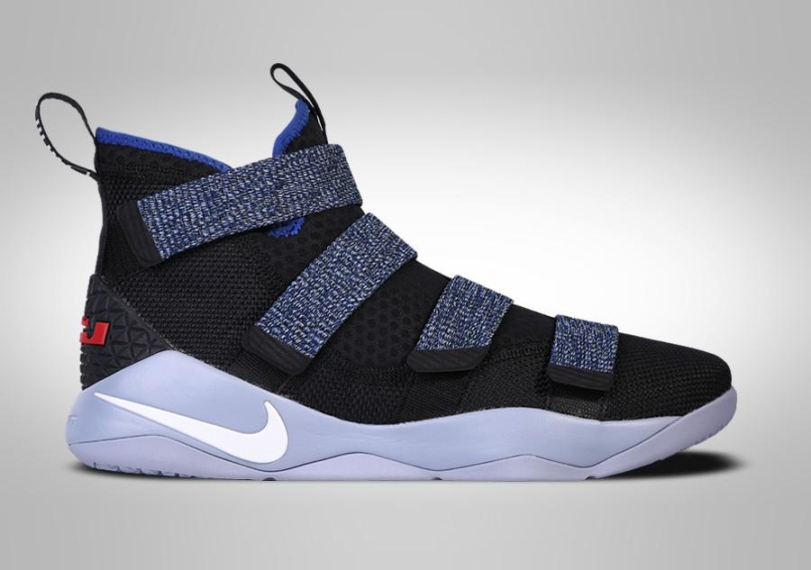6e7a8b9258b04 Nike Lebron Soldier XI 11 White Basketball Shoes