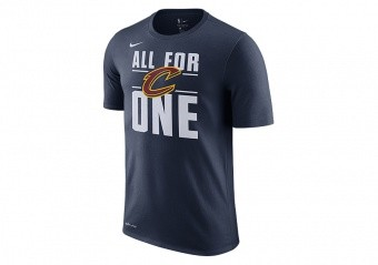 NIKE NBA CLEVELAND CAVALIERS DRY TEE COLLEGE NAVY