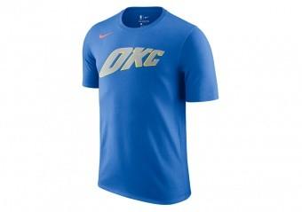 NIKE NBA OKLAHOMA CITY EDITION DRY TEE SIGNAL BLUE
