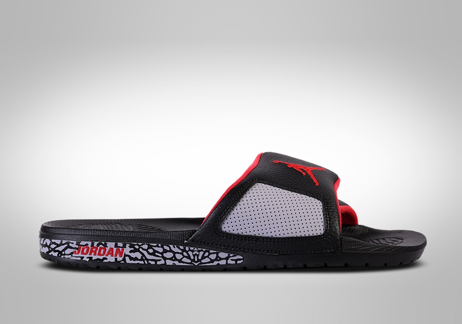 44a9c155b61 NIKE AIR JORDAN HYDRO SLIDE III RETRO BLACK CEMENT price €59.00 ...