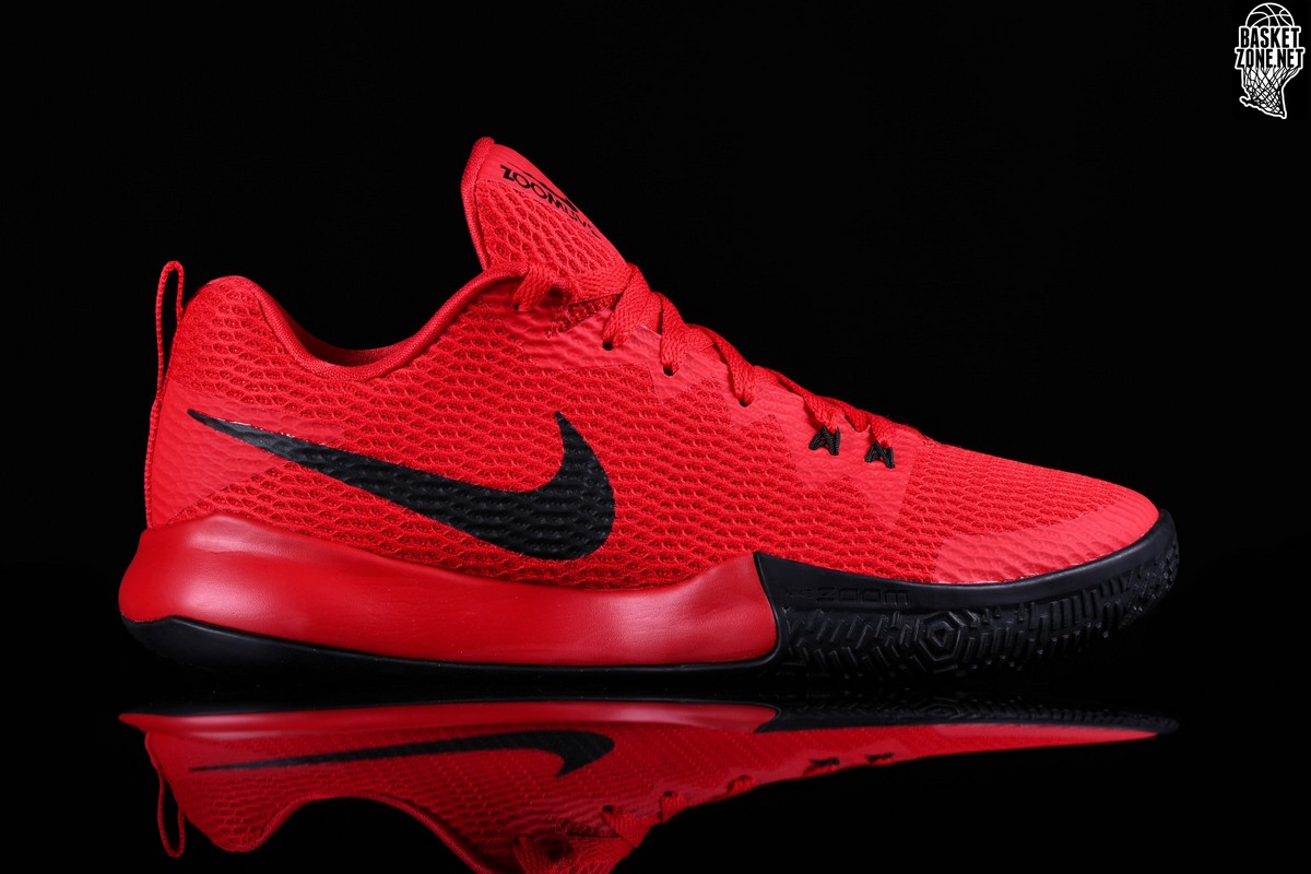 d67b6e46055 NIKE ZOOM LIVE II RED BLACK price €82.50