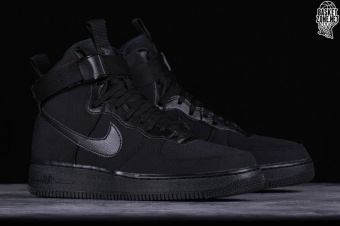 new style 151ee 69f8d NIKE AIR FORCE 1 HIGH '07 CANVAS BLACK per €102,50 | Basketzone.net