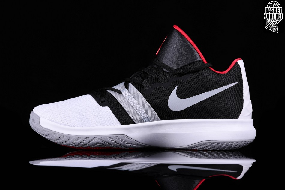 340358a08831 NIKE KYRIE FLYTRAP WHITE BLACK UNIVERSITY RED price  92.50 ...