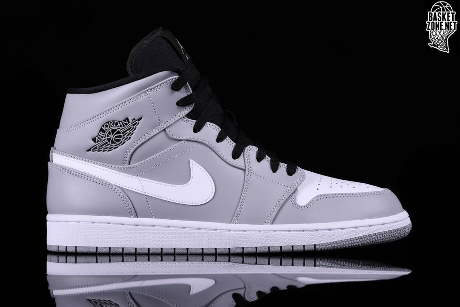 Buty Nike Air Jordan 1 Mid Retro Wolf Grey 41
