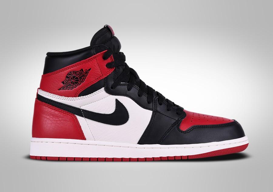Air Jordan 1 Retro High OG Bred Toe •
