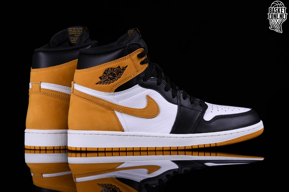 c8987bb4beda NIKE AIR JORDAN 1 RETRO HIGH OG YELLOW OCHRE price 1472.50ر.س ...