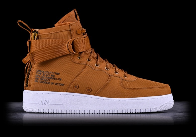 detailed look 83c92 da7a0 NIKE AIR FORCE 1 MID SF DESERT OCHRE per €125,00 ...
