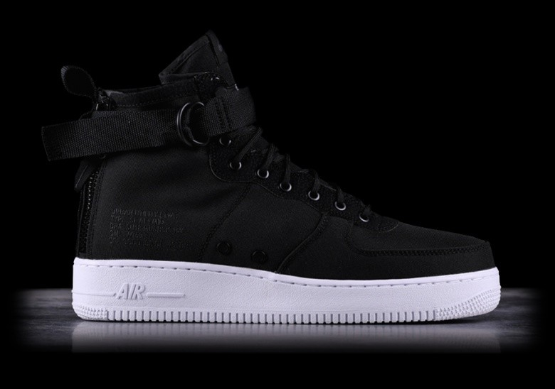 81126c1796f5 NIKE SF AIR FORCE 1 MID BLACK pour 792,50₺ | Basketzone.net