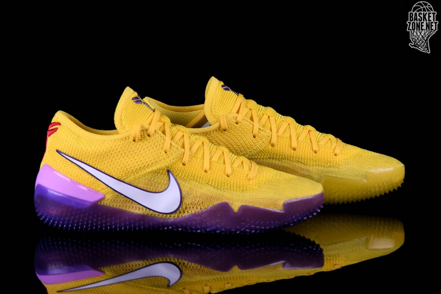 designer fashion 1ffb2 fff9c NIKE KOBE AD NXT 360 LAKERS