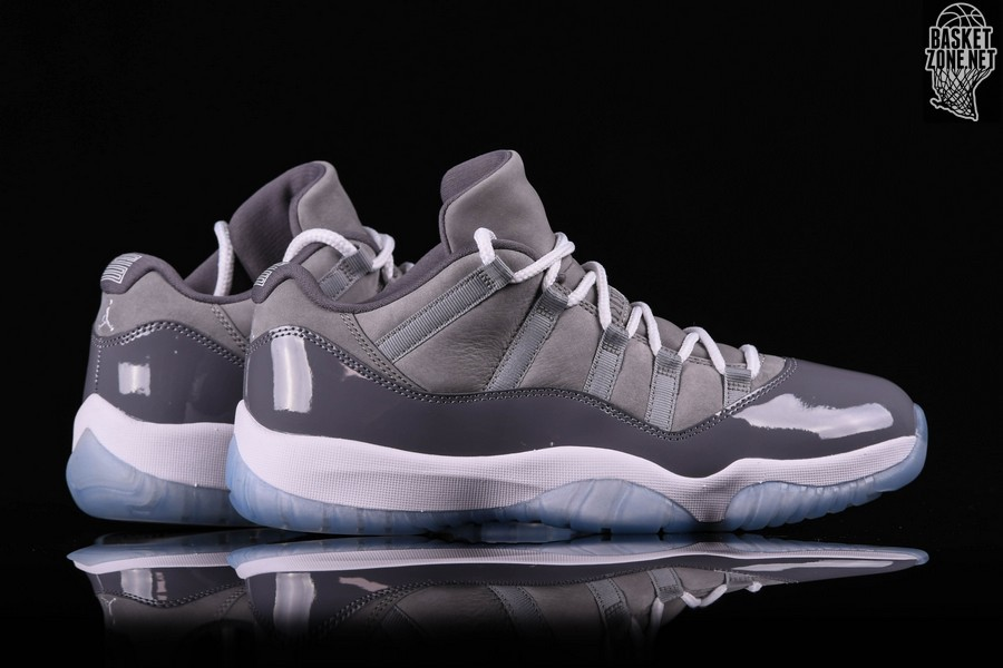 best sneakers 29f5d ff6d4 NIKE AIR JORDAN 11 RETRO LOW COOL GREY price €182.50 ...