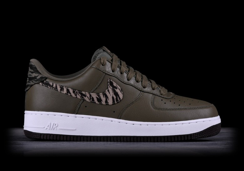 classic running shoes 100% top quality NIKE AIR FORCE 1 AOP PRM MEDIUM OLIVE