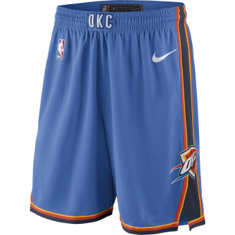 NIKE NBA OKLAHOMA CITY THUNDER SWINGMAN ROAD SHORTS