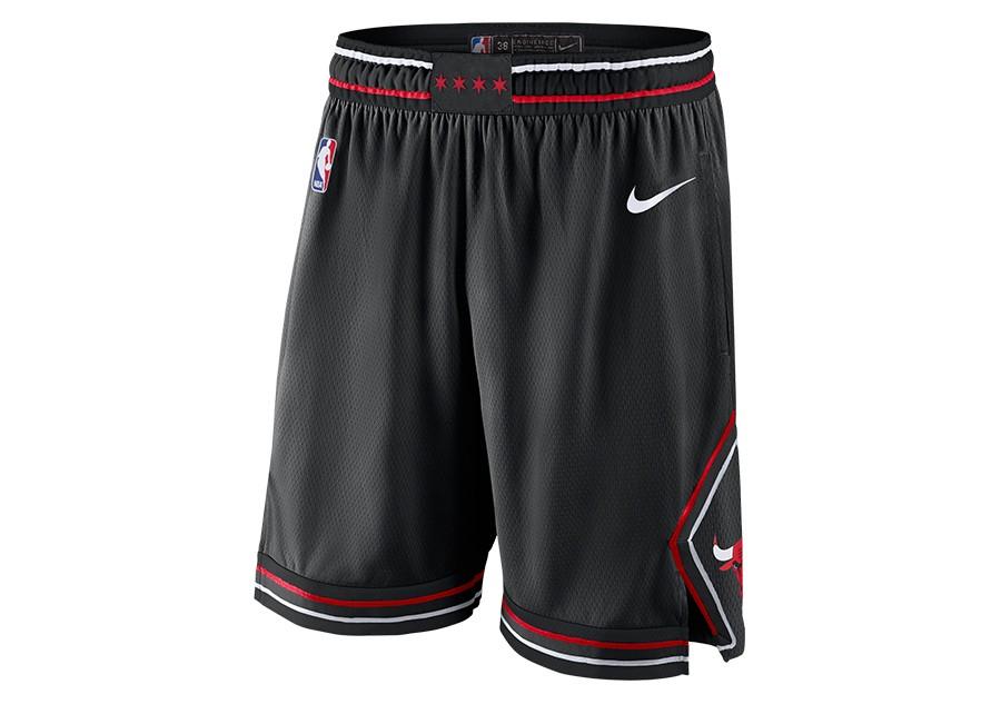 24605b5f42 NIKE NBA CHICAGO BULLS STATEMENT EDITION SWINGMAN SHORTS BLACK price €62.50  | Basketzone.net