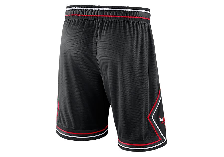 ace6fca9ad6 NIKE NBA CHICAGO BULLS STATEMENT EDITION SWINGMAN SHORTS BLACK price ...