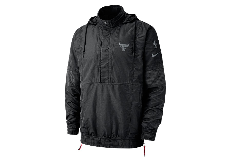 d52bf637f68 NIKE NBA CHICAGO BULLS COURTSIDE JACKET BLACK price €132.50 ...