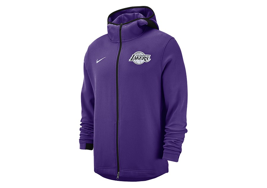 sports shoes 7cd7d 6606e NIKE NBA LOS ANGELES LAKERS DRY SHOWTIME HOODIE FIELD PURPLE pour €92,50    Basketzone.net