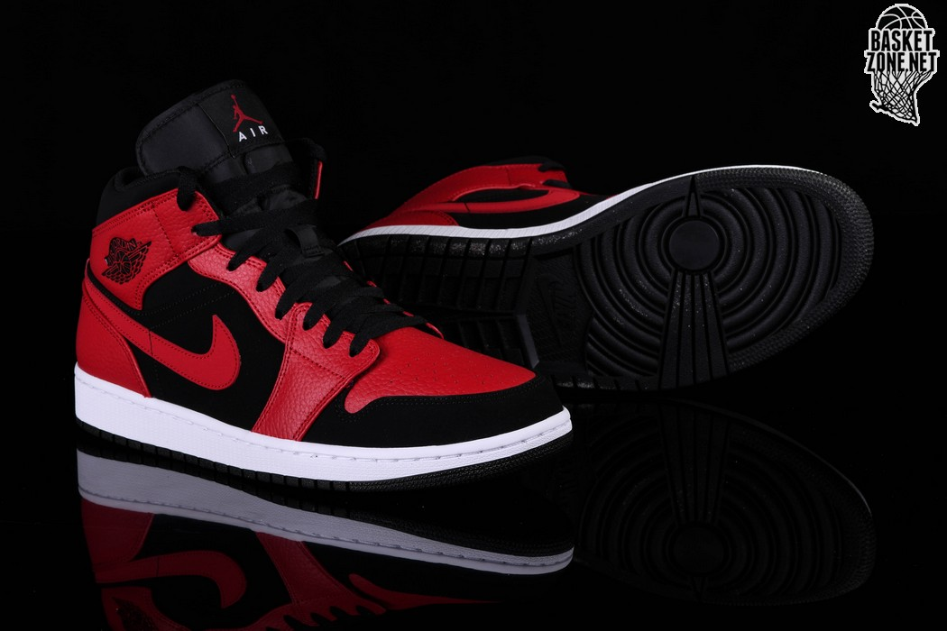 separation shoes c8fa8 40ef5 NIKE AIR JORDAN 1 RETRO MID BRED