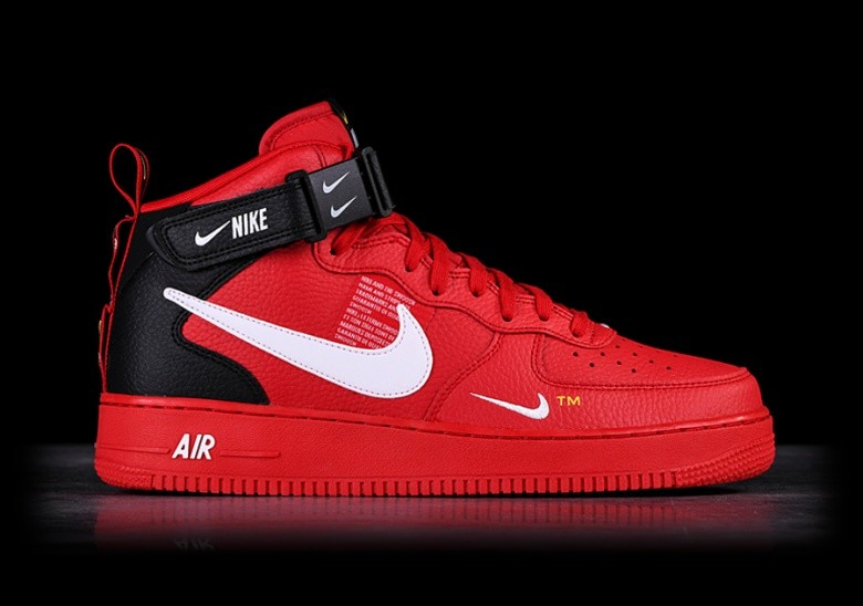 promo code 4f0c3 4c1ed NIKE AIR FORCE 1 MID  07 LV8 UTILITY RED